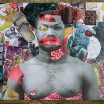 Untitled, 21x29 inches, collage