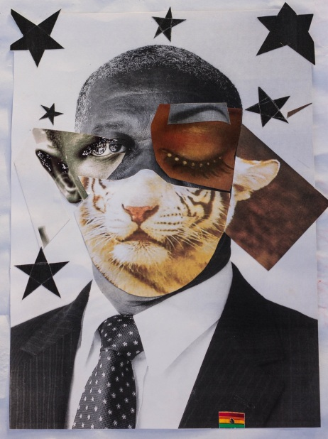 Untitled, 20x13 inches, collage